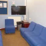 Holmer Green Youth Club lounge area